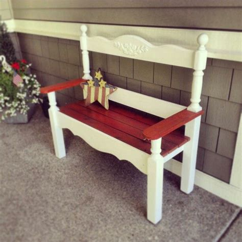 Bench Made From Headboard And Footboard by Headboard And Footboard From Bed When I Was A