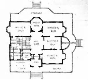 Gilded Age Mansions Floor Plans by Gilded Age House Plans House Of Samples