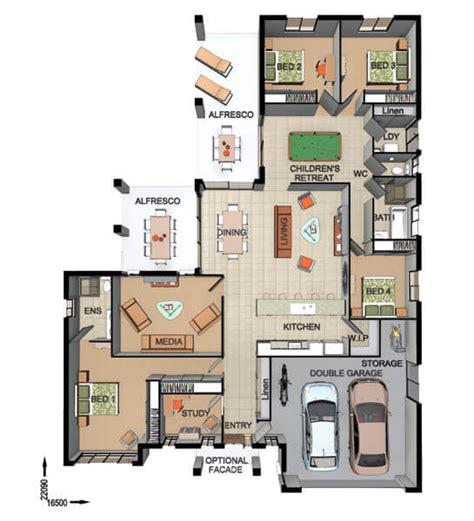 floor plan friday entertaining with alfresco