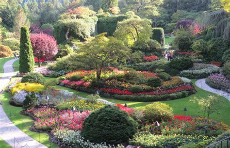 world famous gardens canada s famous butchart gardens 187 gardenworld