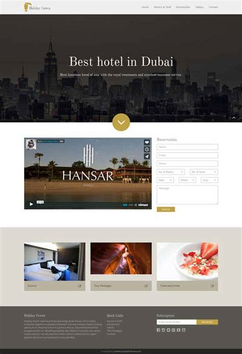 bootstrap templates for hotel reservation 11 free and premium bootstrap templates responsive a z