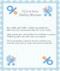 Baby Shower Poem For Boy by Blank Baby Boy Shower Food Tags Free Printable Baby