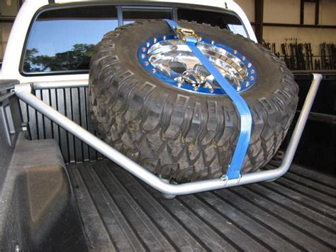 Tire Racks For Trucks by New N Fab Spare Tire Rack 05 13 Tacoma Carrier Toyota Us