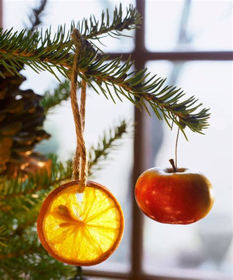easy to make christmas ornaments christmas fruit ornaments