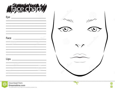 makeup charts template mac makeup chart template 4k wallpapers