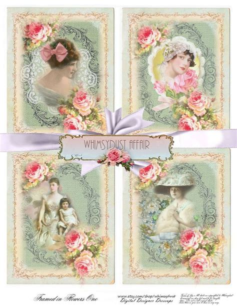 framed flowers on copper sheet craft ideas pinterest 1000 images about shabby chic digital paper shabby