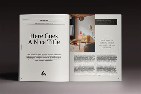 last chance 15 indesign magazine brochure templates