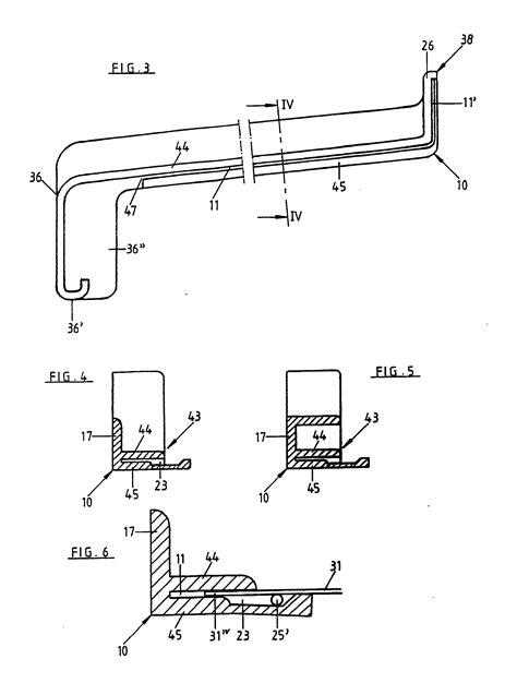 fensterbrett schnitt patent ep0450265a2 kantenbekleidung f 252 r d 252 nne