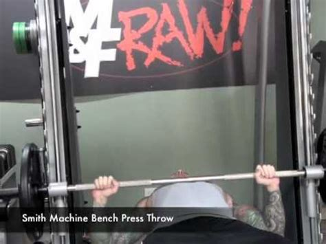 bench press throw smith machine bench press throw by jim stoppani youtube