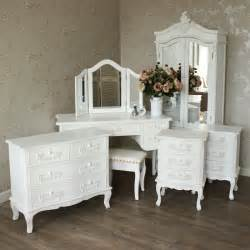 Bedroom Furniture Sets With Dressing Table White Bedroom Furniture Set Closet Bedside Dressing Table