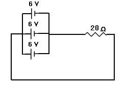 the current through the 20 ohm resistor does not change practice questions