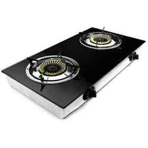 Outdoor Cooktop Propane by Two Burner Propane Stove Portable Cooktop Indoor Outdoor