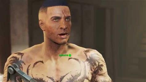 fallout 4 mod tattooed body black pip boy texture