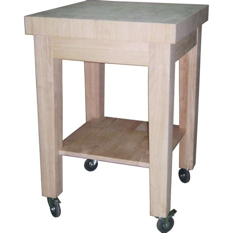 mobile kitchen island butcher block 41 in w mobile kitchen island cart in black zh1411892b
