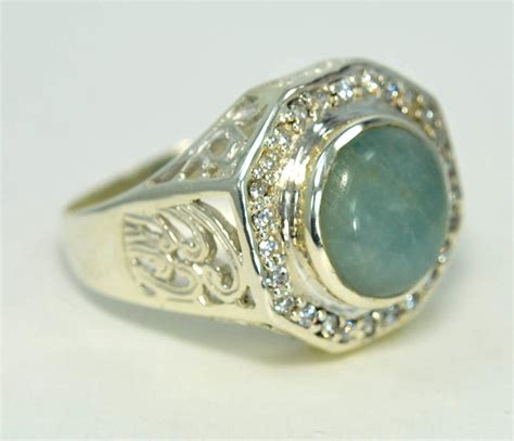 design aquamarine march birthstone 925