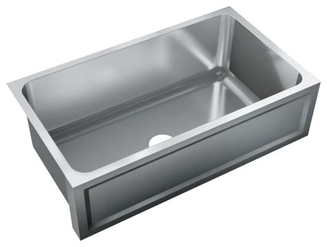 just single bowl apron sink 20 5x32 undermount embossed