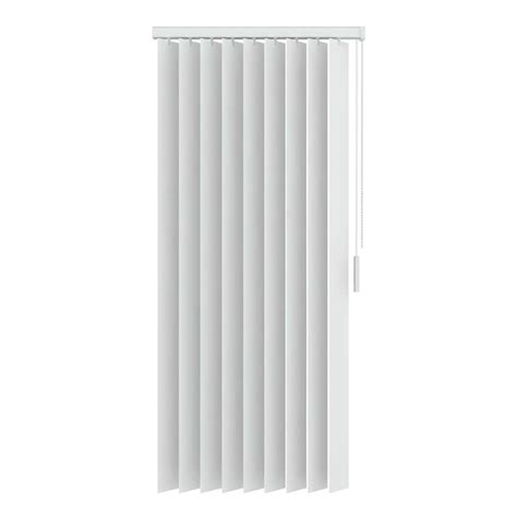 verticale lamellen pvc verticale lamellen pvc verduisterend 89 mm wit 200x180 cm