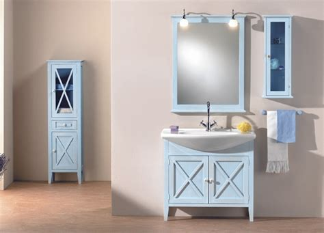 is a blue bathroom vanity for you abode