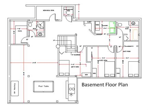basement floor plan award winning timber frame house in harbour scotia