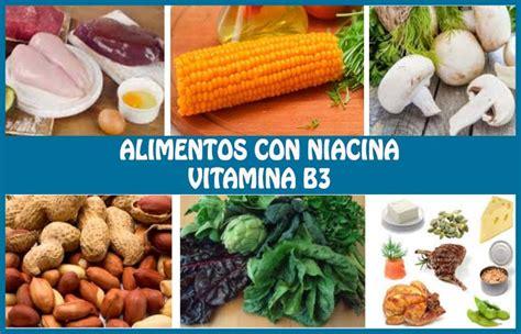 alimentos ricos en niacina alimentos ricos en niacina o vitamina b3 su importancia y