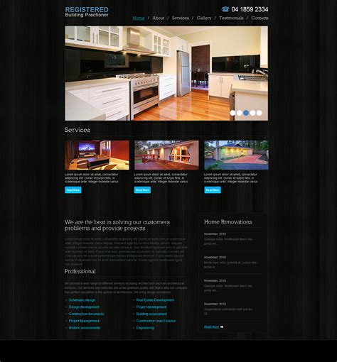 home decorator website home extensions website design melbourne axpamdesign