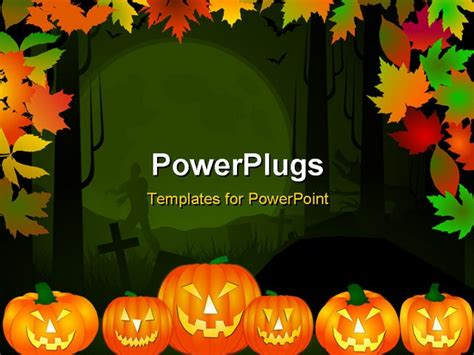 free halloween powerpoint templates download free ppt powerpoint template halloween theme background in