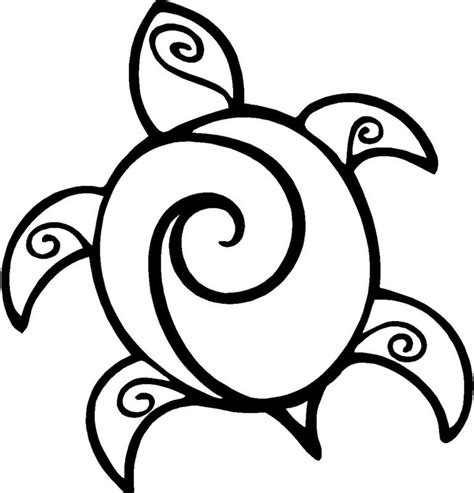 simple turtle coloring page sea turtle decal shop sunset designs
