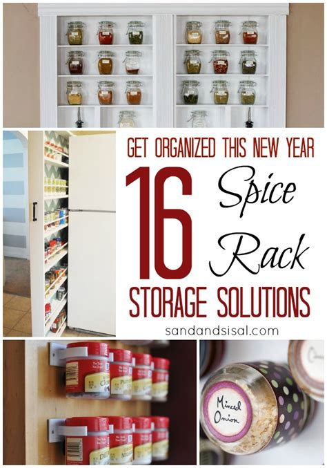 In Drawer Spice Racks Spice Rack Storage Solutions Sand And Sisal