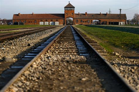 auschwitz and after auschwitz liberation anniversary raises difficult questions for local residents photo report