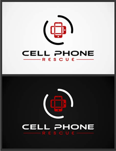 design a logo on your phone 77 professional logo designs for cell phone rescue a