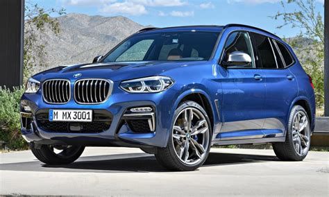 all 2018 bmw x3 look familiar but has more tech