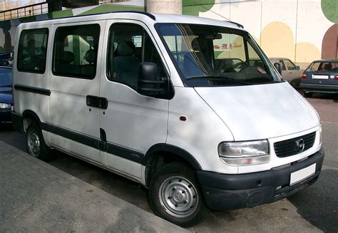 Opel Movano Wikipedia