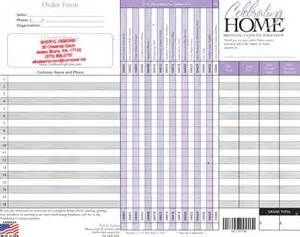 candle order form template best photos of candle fundraiser order form template