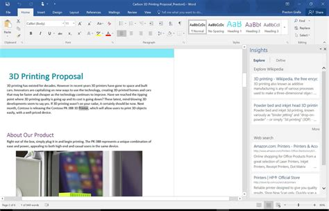 Word Lookup Review In Office 2016 For Windows Collaboration Takes Center Stage Computerworld