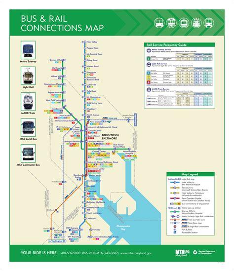 umd cus map transit maps maryland transit administration