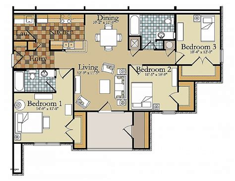 Free Luxury House Plans by House Plan Beautiful Three Bedroomed House Plans Free