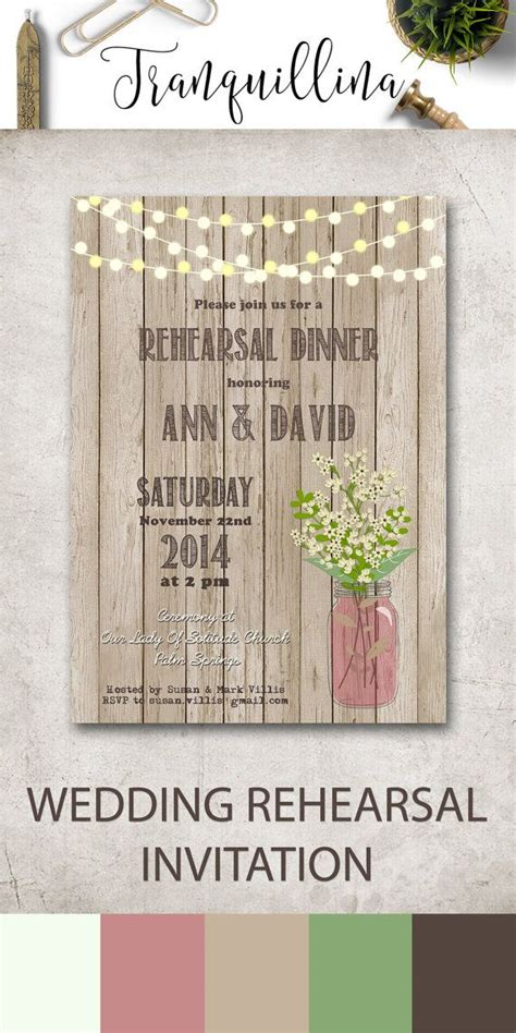 wedding rehearsal invitations 1000 ideas about wedding rehearsal invitations on