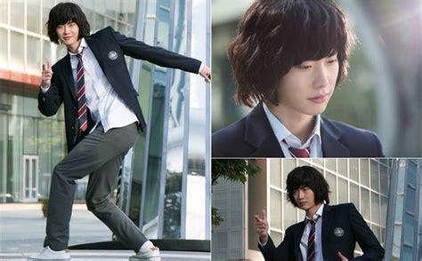 film pinocchio lee jong suk lee jong suk makes a complete transformation into his