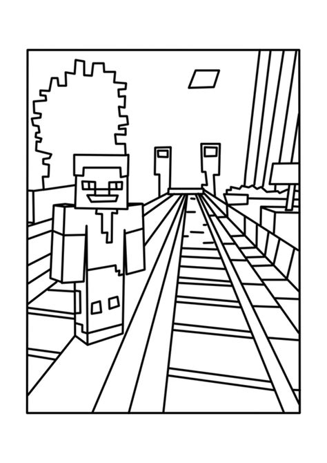 Printable Minecraft Coloring Page Az Coloring Pages Minecraft Coloring Pages To Print