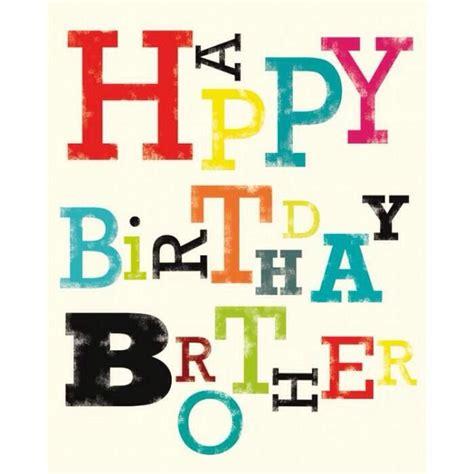 imagenes de happy birthday bro feliz cumplea 241 os hermano greating cards pinterest