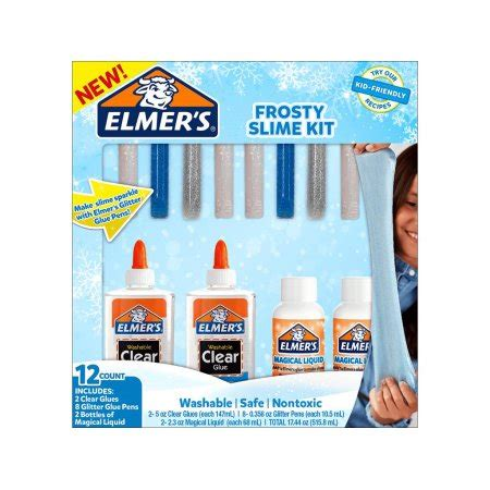 kit walmart elm frosty slime kit walmart