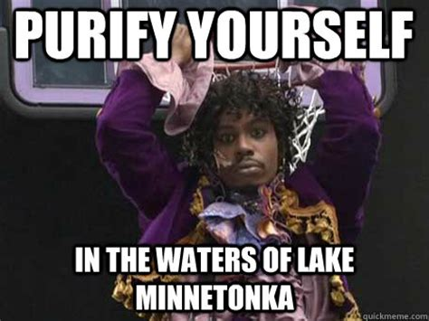 Dave Chappelle Prince Meme - why don t you purify yourself in the waters of lake