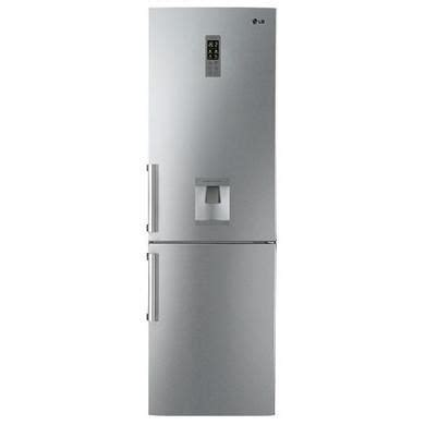 Dispenser And Cool Lg lg gb5237avew free freestanding fridge freezer with
