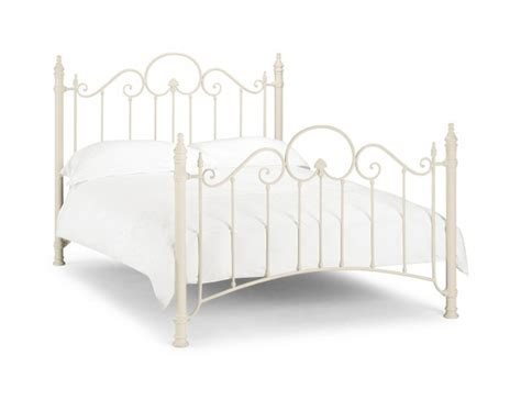 White Metal Single Bed Frame Julian Bowen Florence 3ft Single White Metal Bed Frame By Julian Bowen