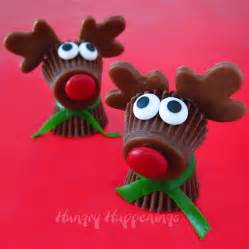 reese s cup rudolph the red nose reindeer treats for
