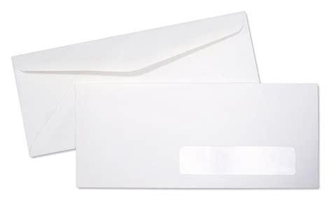 standard window envelope template 10 24lb white wove standard right window commercial