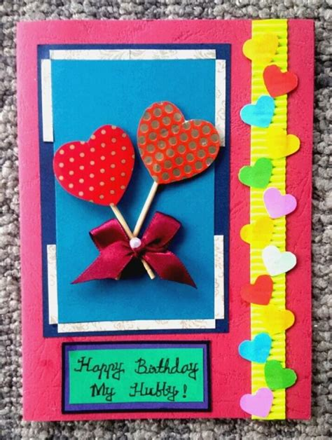 How To Handmade Cards - birthday cards handmade simple happyeasterfrom