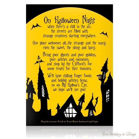 blank halloween invitations invitation card gallery