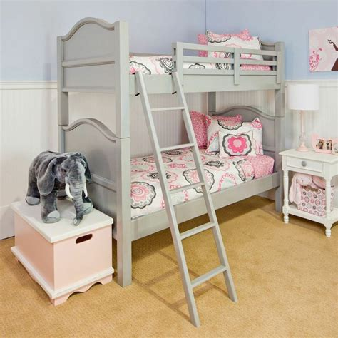 Loft Bed Gray Kelton Bunk Bed Grey Bed Bunk Beds And Pink
