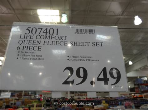 life comfort fleece sheet set life comfort fleece sheet set